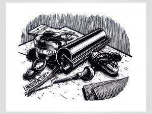 spig linocutfactory Linogravure illustration stéphane gétas