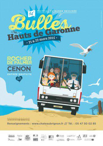 Festival Bulles en hauts de Garonne 2015 - atelier linogravure spig linocutfactory