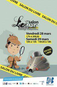 atelier linogravure salon du livre du Bouscat 2015