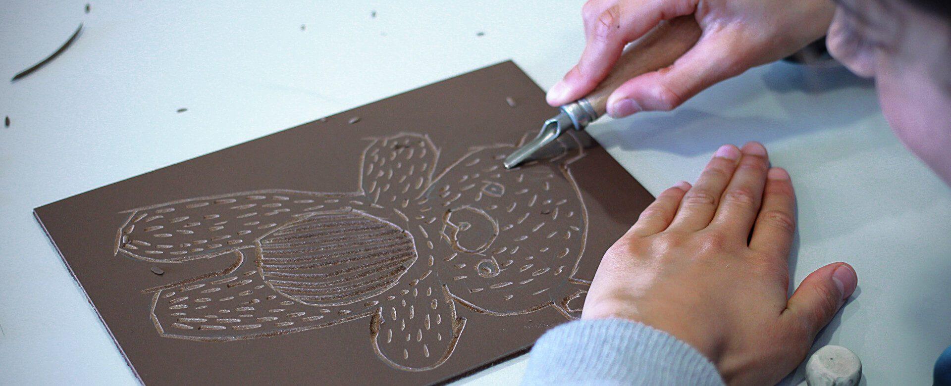 linocutfactory atelier mobile de linogravure et illustration tout public ado enfant sur toute la France, animation d'atelier créatifs