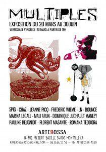 Expo Multiple à la galerie Arterossa à Montpellier