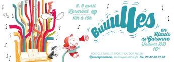 Bulles en hauts de Garonne 2017 - ateliers linogravure illustration spig linocutfactory